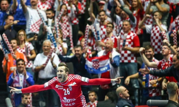 Handball EURO 2018: Croatia Beats Serbia in Opener in Split