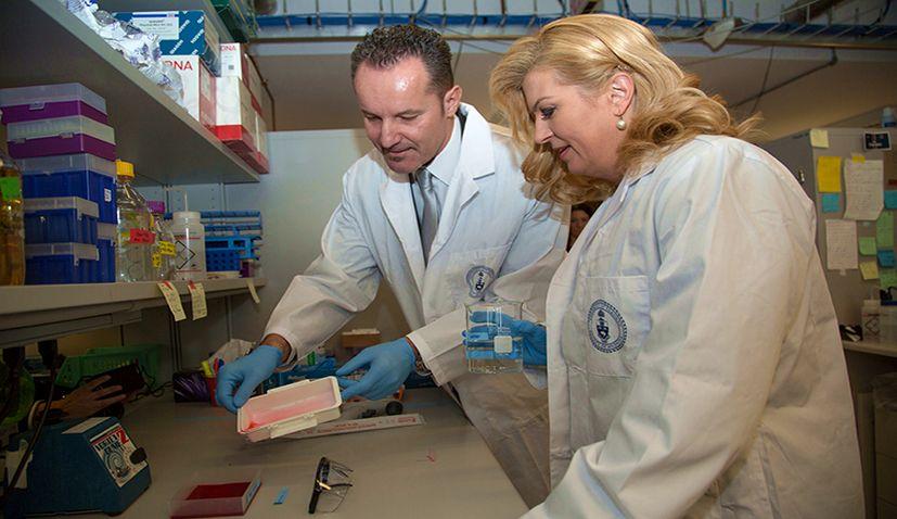 Croatian Molecular Biologist Igor Stagljar Reveals Lung Cancer Drug Now Ready