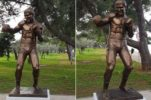 One of Croatia's Greatest Ever Sportsman Honoured with Life-Size Bronze Statue