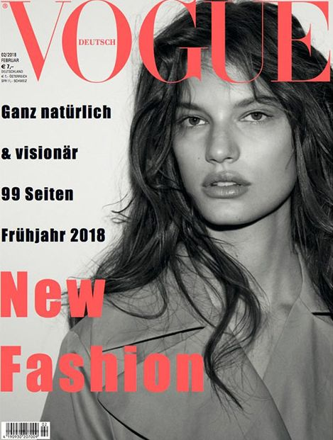 Croatian Model Graces Cover Of Vogue Magazine