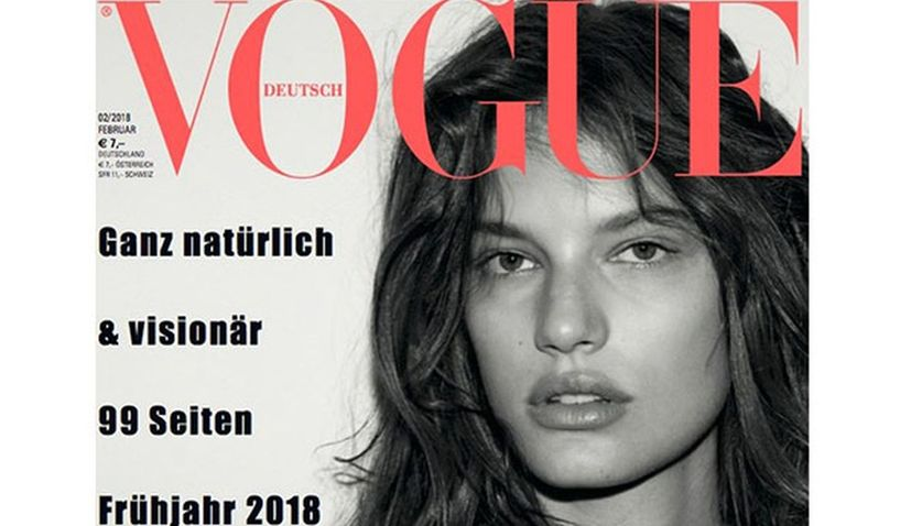 Croatian Model Graces Cover of Vogue Magazine