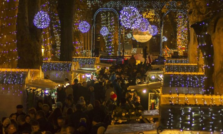 110,000 Tourists Visit Zagreb Christmas Markets