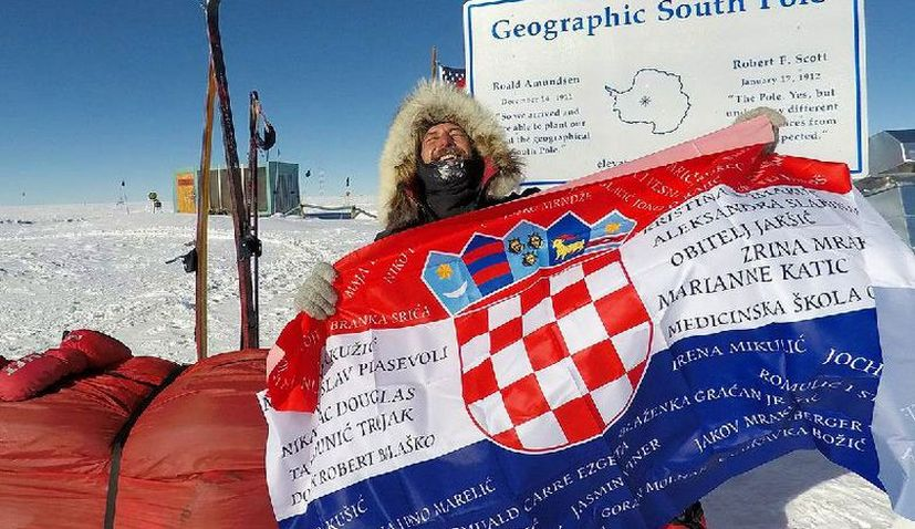 Davor Rostuhar Becomes the First Croatian to Walk to the South Pole