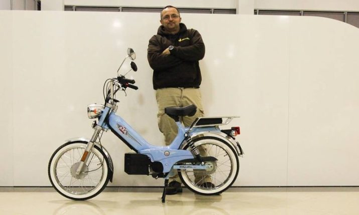 [PHOTO] Rimac Pimps Legendary Tomos Moped
