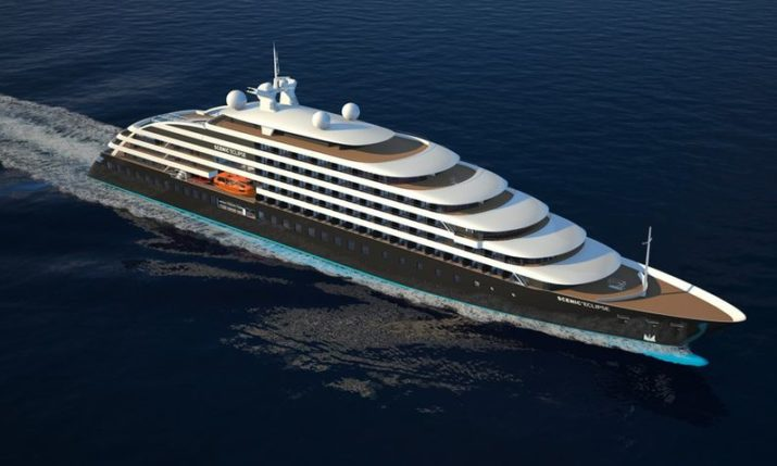 Keel laid on world's most luxurious polar cruiser 'Eclipse II' at Croatian shipyard 3. Maj