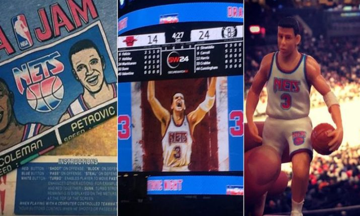 VIDEO: Brooklyn Nets Honour the Legacy of Drazen Petrovic