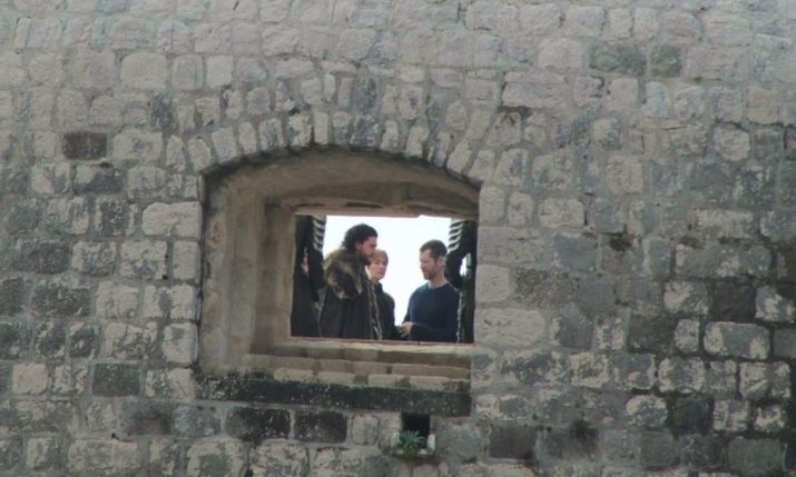 PHOTOS: Jon Snow & Cersei Lannister Filming for Game of Thrones in Dubrovnik
