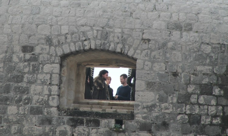 Jon Snow & Cersei Lannister Filming for Game of Thrones in Dubrovnik