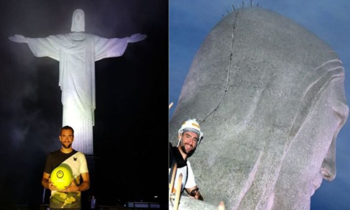PHOTOS: Marin Cilic Gets Up Close with Christ the Redeemer in Rio