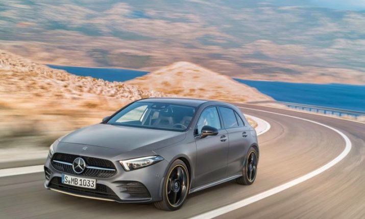 VIDEO: Mercedes in Croatia for New A-Class World Premiere