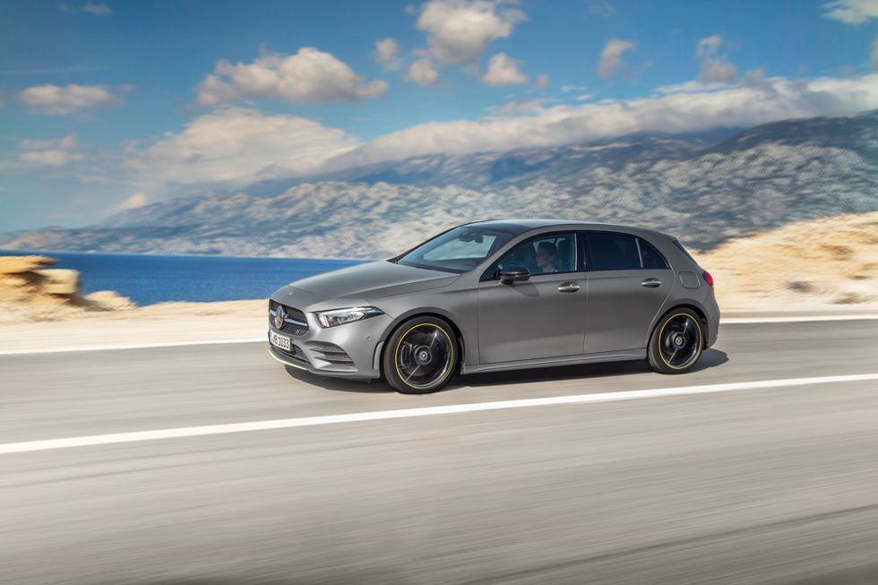Mercedes Benz Select Croatia To Shoot New A Class