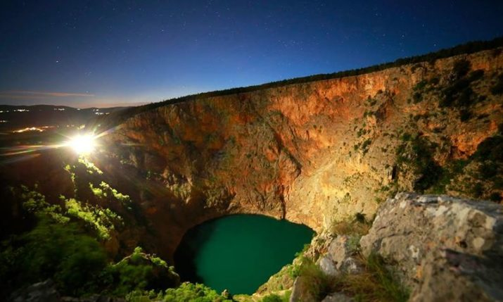 Imotski's Red & Blue Lakes Eye UNESCO Protected Geo Park Status