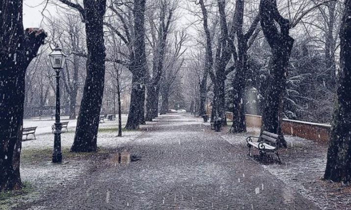 PHOTOS: First Snow of 2018 Falls in Zagreb