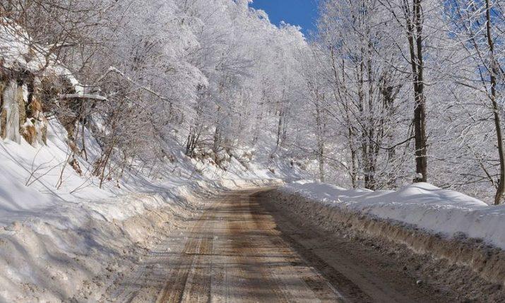 VIDEO: Snow Falls on the Dalmatian Coast
