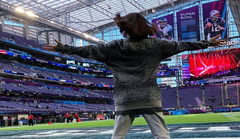 VIDEO: Croatian Dancer Performs at Halftime Show for Super Bowl LII