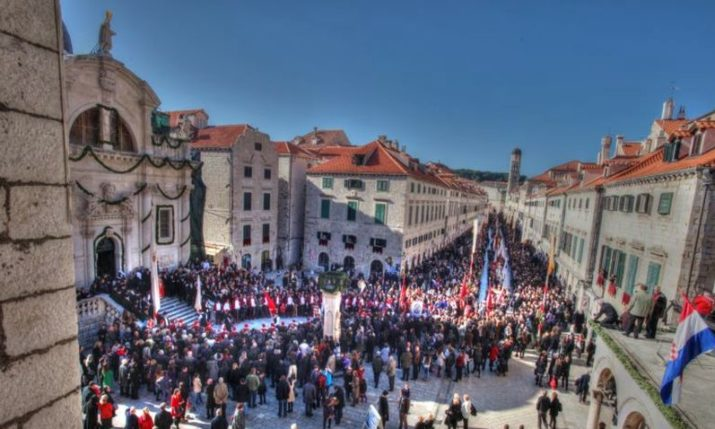 Feast of St. Blaise celebrated for the 1048th time in Dubrovnik