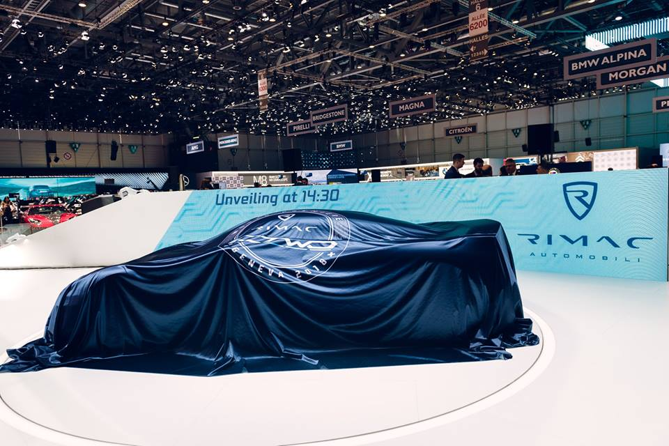 Geneva Motor Show 2018: Rimac C_Two disappears before you blink