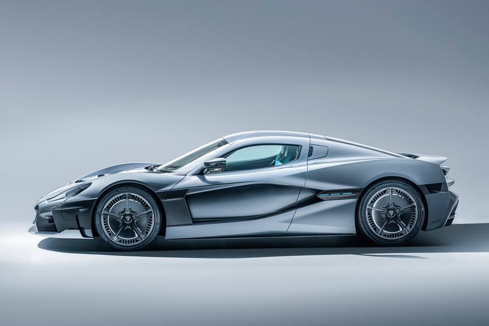Rimac creates an electric supercar with nearly  2000 horsepower!