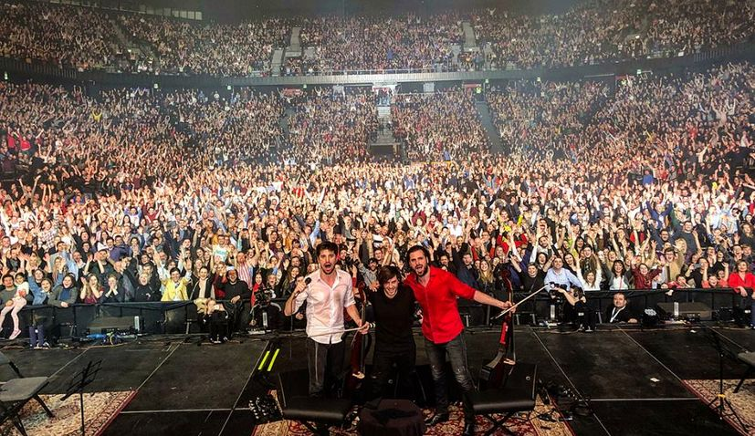 VIDEO: 2CELLOS Give Split an Unforgettable Night