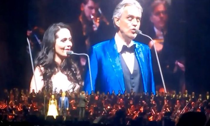 VIDEO: Andrea Bocelli Thrills the Zagreb Public