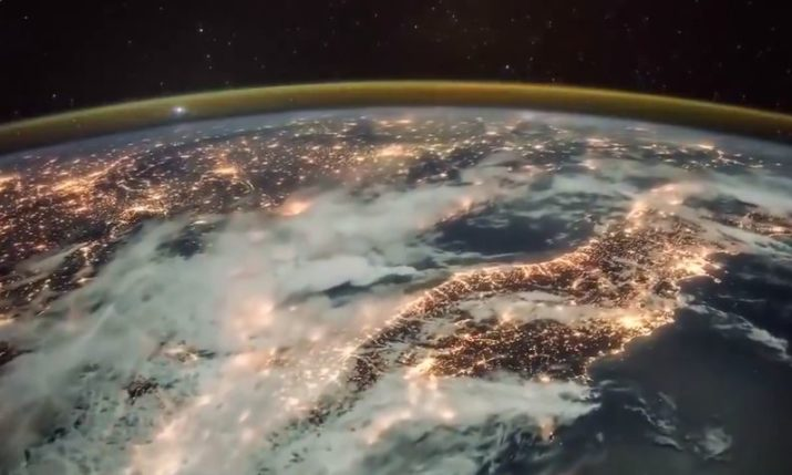 VIDEO: Storm Over Croatia From Space