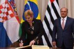 Croatian President Starts Working Visit to Brazil
