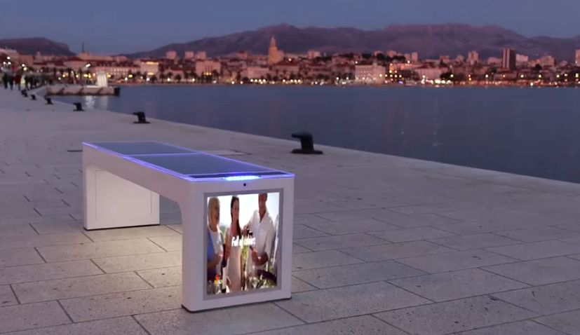 Croatian smart bench by Include (Photo: Include)