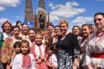 PHOTOS: Croatian President Meets Croatian Community in Argentina