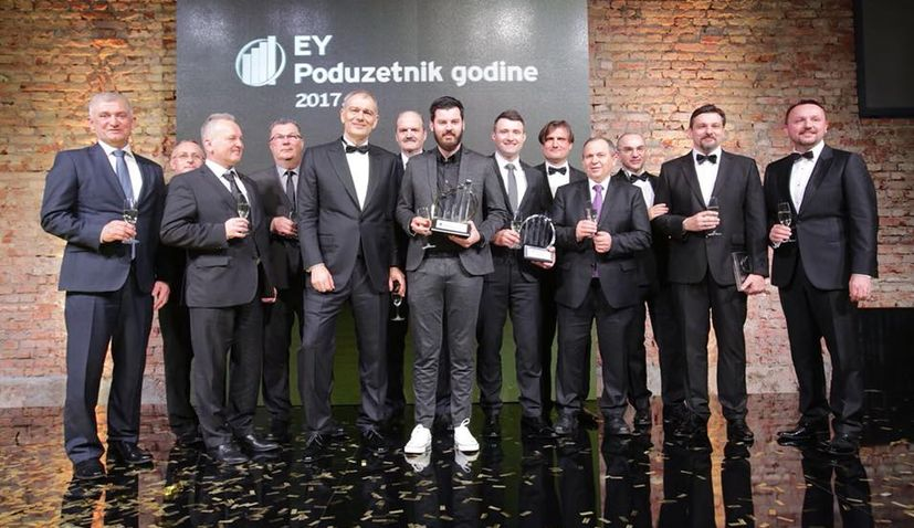 Mate Rimac Named Croatian Entrepreneur of the Year