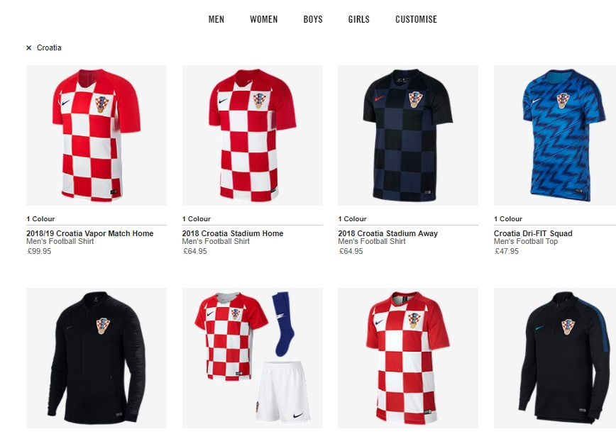 197b372e8 New Croatia Kit Available for Purchase from Today