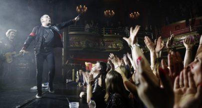 Croatian Rock Legends Parni Valjak 'Steamroll' London Crowd