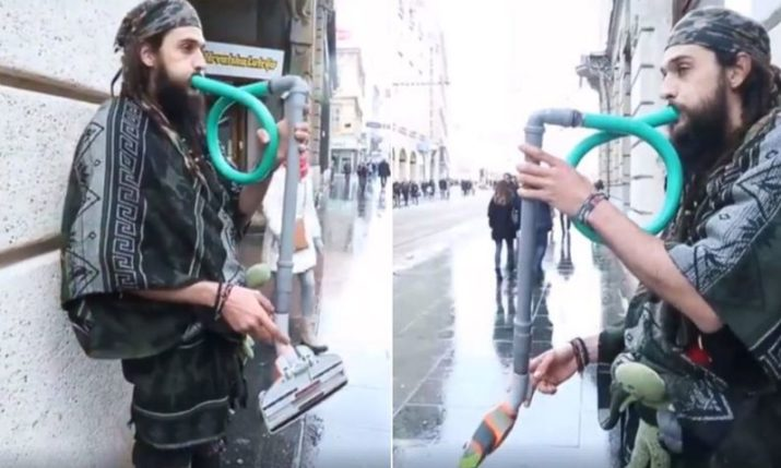 VIDEO: Aussie Vacuum Cleaner Player Turns Heads on Zagreb Streets