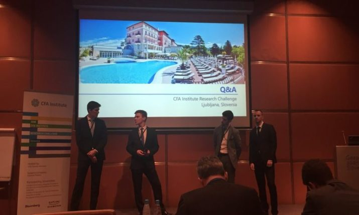 ZSEM Wins Local Final of 2018 CFA Institute Research Challenge