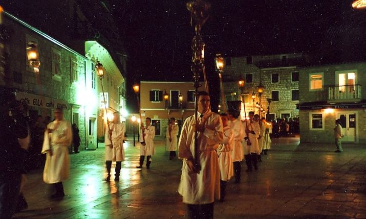 500-year-old Easter 'Za Križen' Procession tradition on Hvar to go ahead with restrictions
