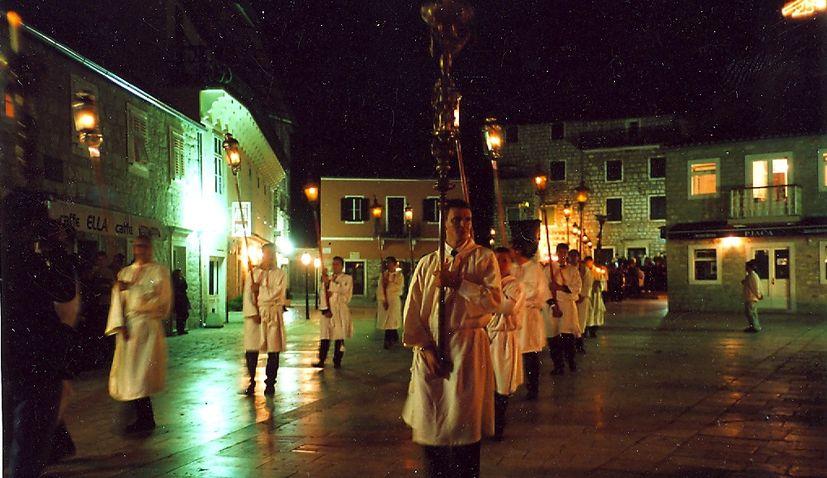 The 'Za Križen' Procession ('Following the Cross')