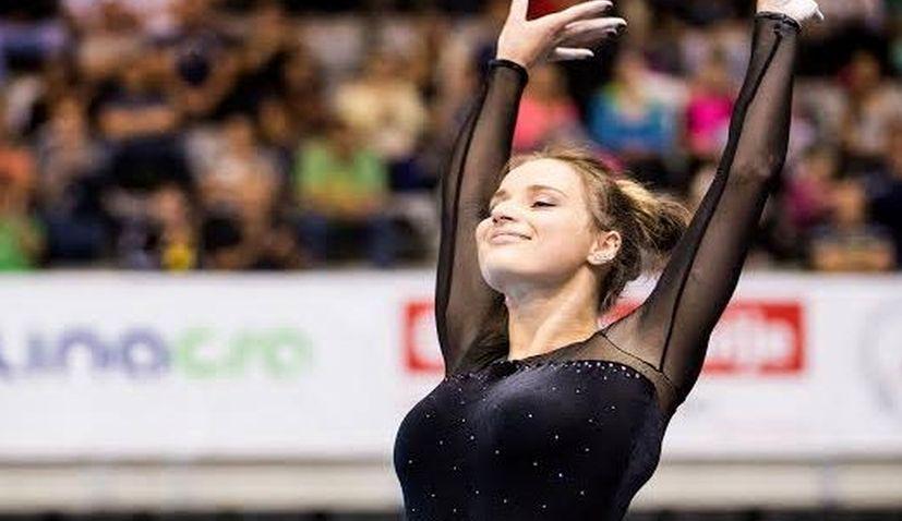 VIDEO: Ana Đerek Wins Gold Medal for Croatia at Gymnastics World Cup