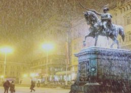 First snow forecast to fall next week in Zagreb