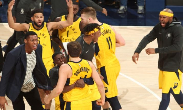 VIDEO: Bojan Bogdanovic Equals Club Record in NBA Playoffs