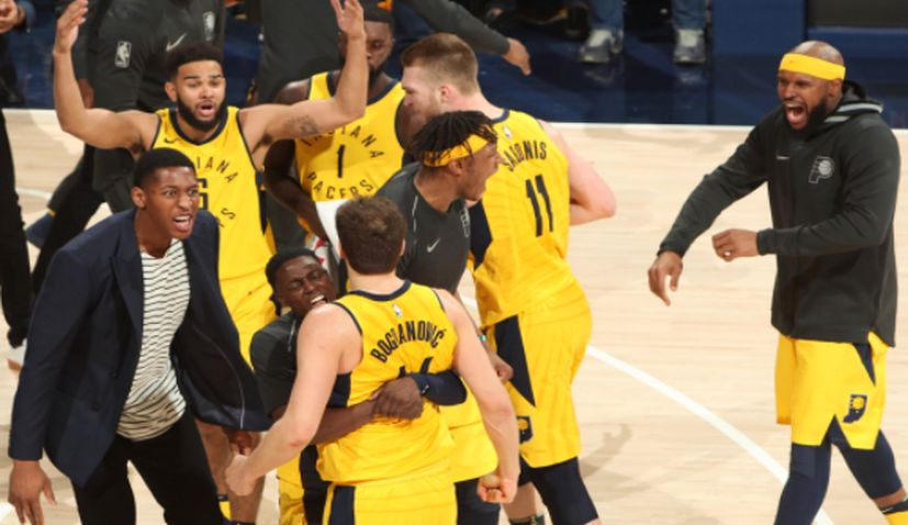 Cavs hold off Pacers to tie playoff series