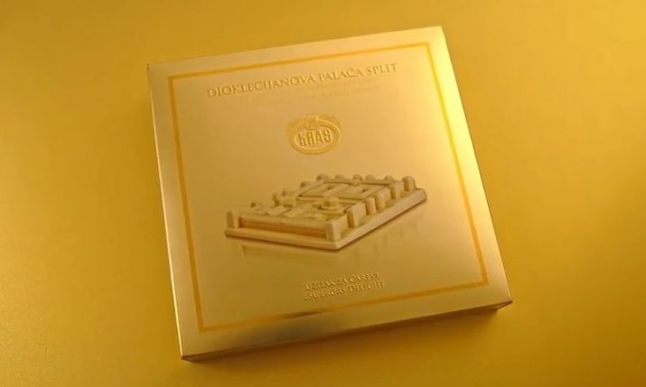 VIDEO: Kraš Dedicate Chocolate to Split's Famous Diocletian Palace