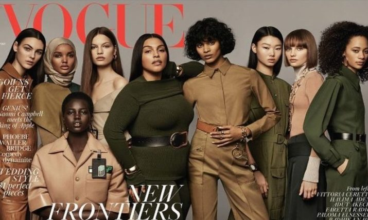 Top Croatian Model Graces Cover of UK Vogue