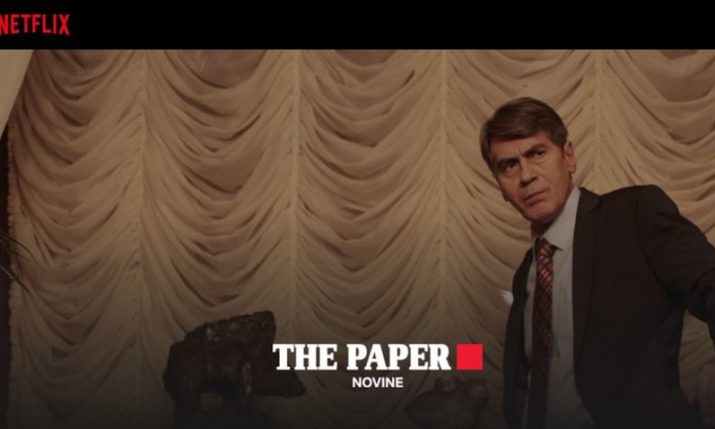 Croatian Series 'The Paper' Picked Up by Netflix