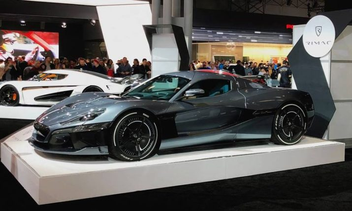 VIDEO: Rimac C_Two Hypercar in New York