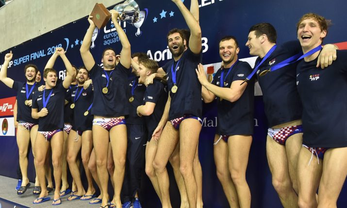 Gold Again for Croatia Water Polo