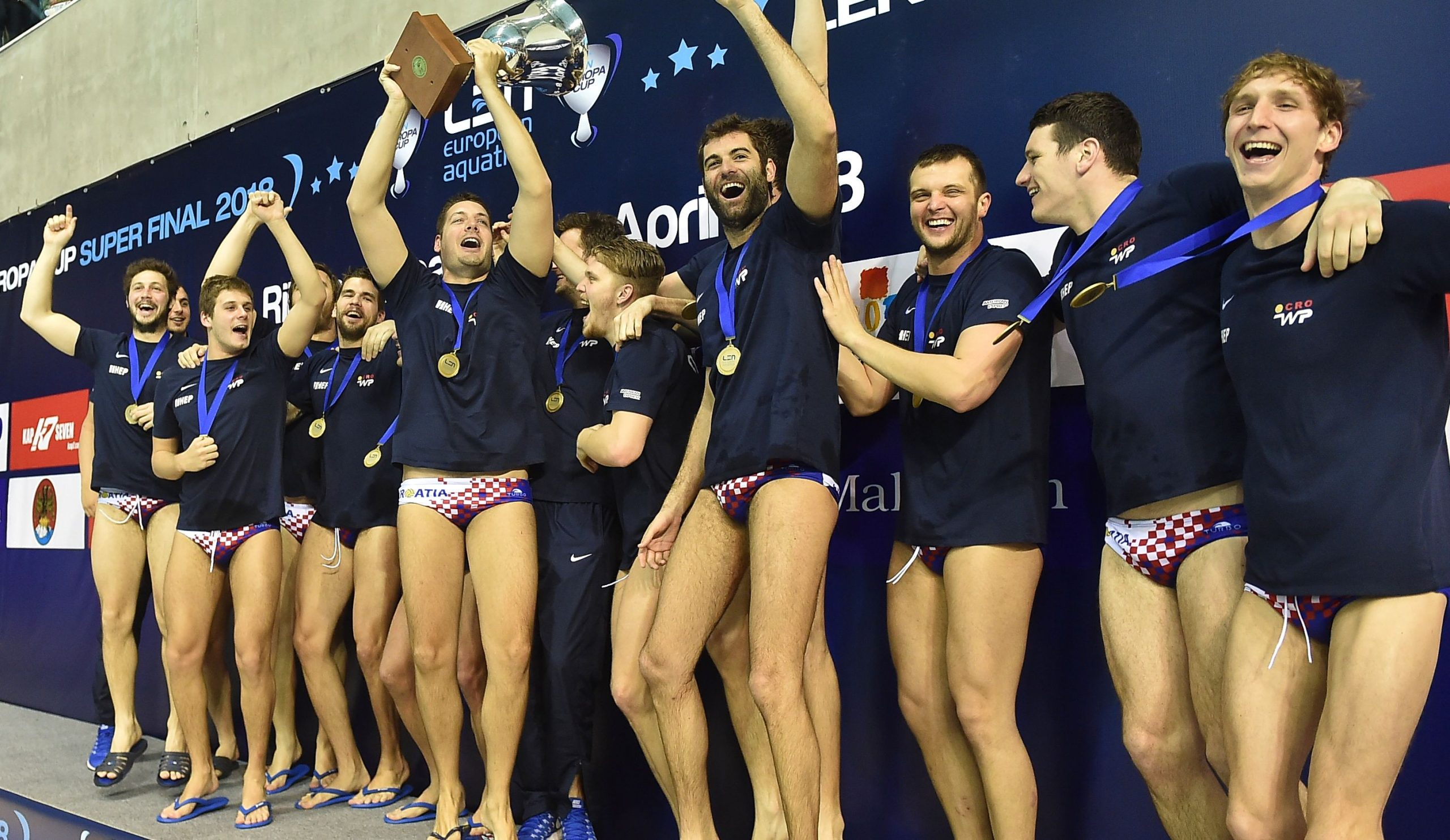 Gold Again for Croatia Water Polo