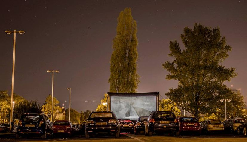 Drive In Movies Return To Zagreb Croatia Week