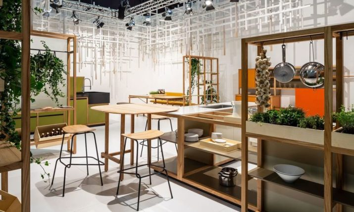Conceptual Kitchen SLAVONIKA Presented in Milan