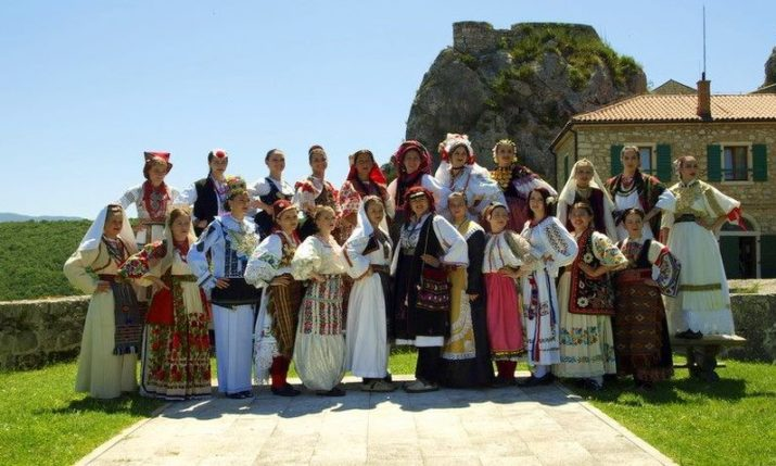 2018 Most Beautiful Croatian in National Costume Outside Croatia Competition