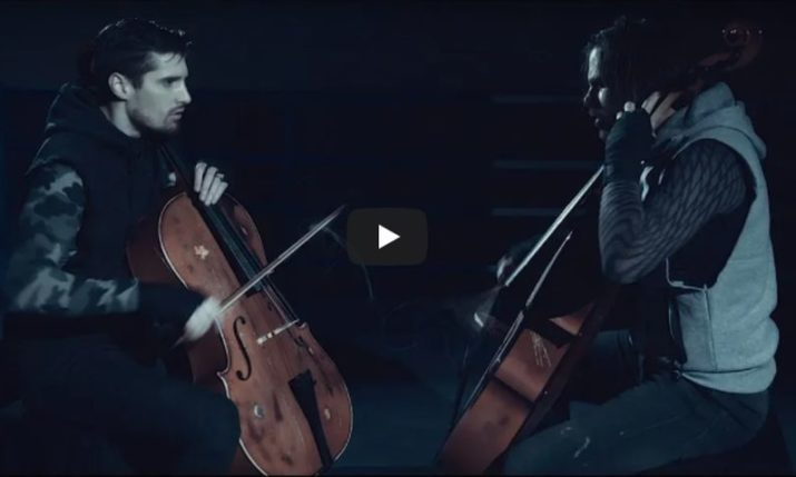VIDEO: 2CELLOS Cover Rocky Theme 'Eye of the Tiger'