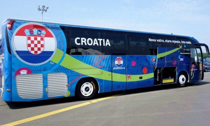 Vote on Slogan for Croatia's Official World Cup Team Bus